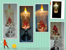 LED Light acrylic candle