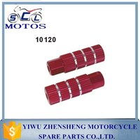 SCL-2013073572 Popular and Colorful CNC motorcycle foot rest for motorcycle parts