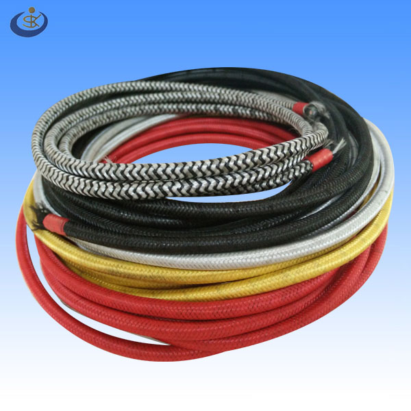 2 cores 0.75mm2 colorful decorative lighting fabric textile electrical wire for pendant lamp
