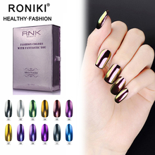 RONIKI 12 Colors Nail Mirror Chrome Glitter Nail Powder For Nail Art Designs