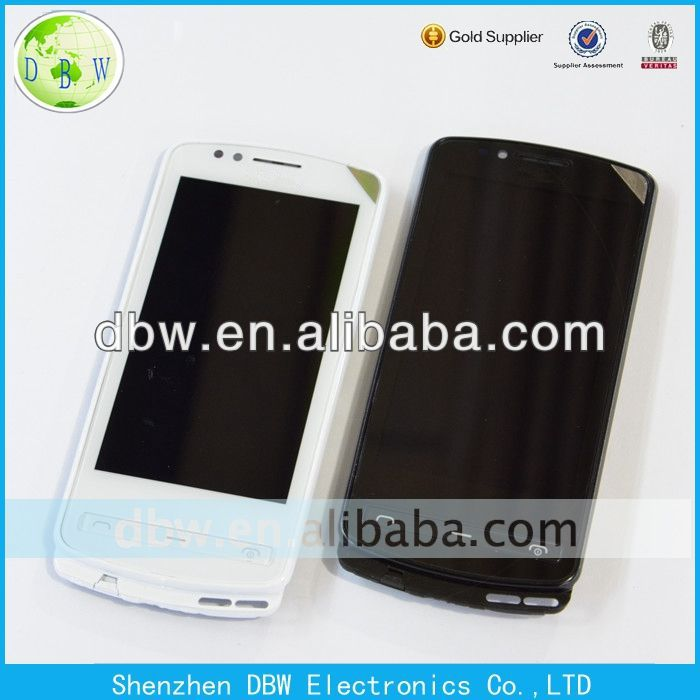 for Nokia 700 N700 LCD with Touch black and white color