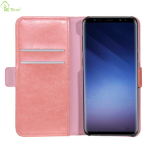 High Quality Custom Leather Flip Card Holder Wallet Phone Case For Samsung Galaxy S9