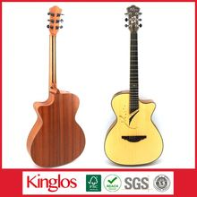Special Design Good Quality Artistic Colorful Acoustic Guitar Made of Solid Spruce Wood Mod for Beginers (S41U-012-015)