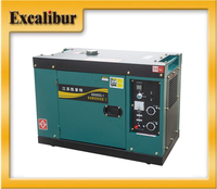 4.5kw power air cooled silent diesel generator S5000DS-5 186f motor