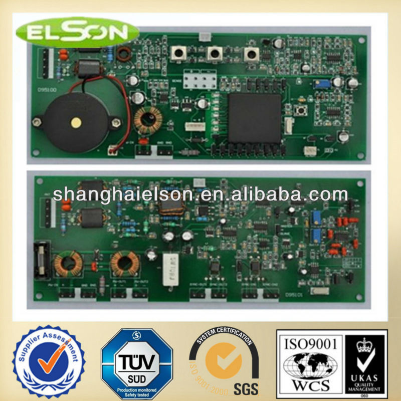Eas security PCB dual board,Rf 8.2mhz anti-theft system mainboard,Eas transmitter and receiver mainboard for retail stores.