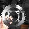 motorcycle front and rear sprocket Color