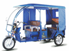 electric tricycle with driving cab for taking passengers