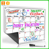 Magnetic Chalkboard White Dry Erase Weekly and Monthly Planner