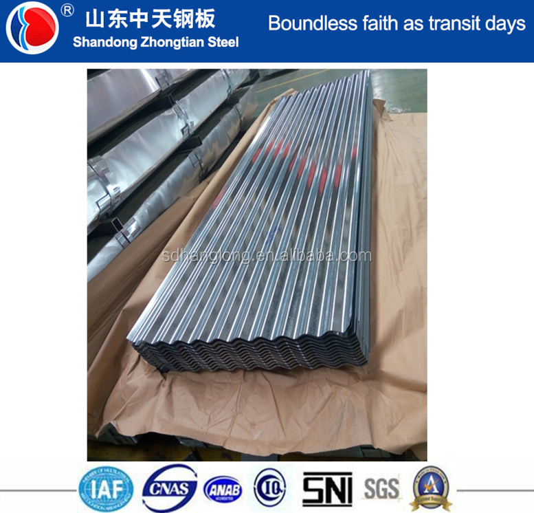 [ Factory ] Hot Dipped Galvanised Corrugated Steel / Iron / Metal Roofing Sheets / Plates Manufacturer