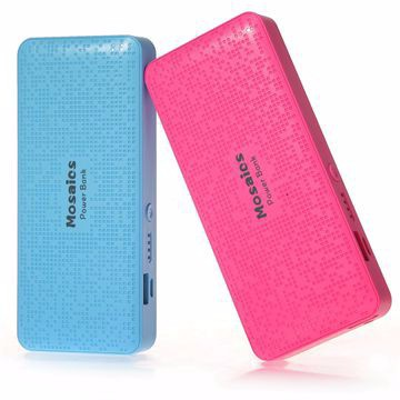 New Arrival newest colorful power bank 5200mAh portable charger For iphone 5 6 plus External backup battery