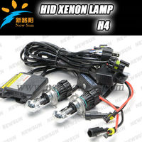 Factory Direct 50% Off Car Headlights H4 Hid Xenon Lamp One Year Warranty 35w Auto Hid Kit