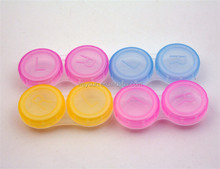 300pcs Contact Lens Box Small Lovely Candy Color Eyewear Case Bags Best Gift DHL Freeshipping