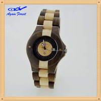 Excellent quality hot-sale factory direct solar wood watch