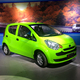 New design environmental electric car electric vehicle