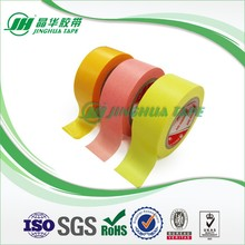 Delicate Package OEM Precise Edges For Sharp Edge Automotive Masking Tape Yellow