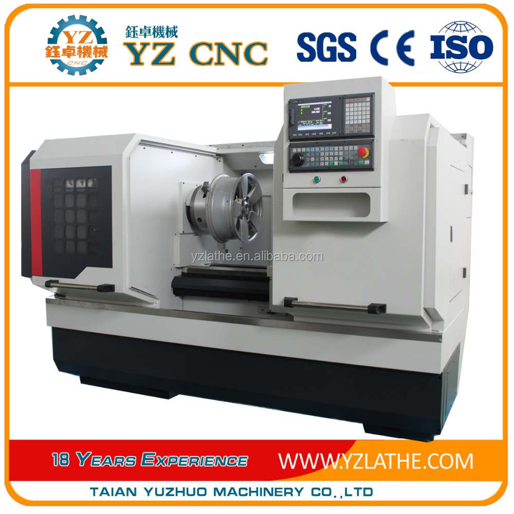 Alloy wheel straightening machine cnc Vertical Lathe WRC28 machines for sale