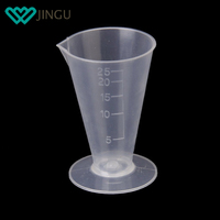 Household Kitchen Cooking Measure Containers Clear Plastic Liquid Measuring Cup