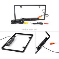 170 degree Viewing Angle Universal 8 IR LED Car License Plate Frame Mount Rear View Camera (Black or Silver )