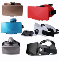 Factory price VR cheap virtual reality headset low price plastic 3d glasses 3d vr glasses