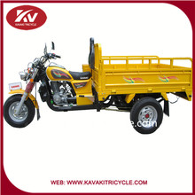 2016 Guangzhou factory cheap sale cargo use three wheel motorcycle 150cc tricycle garbage truck for adults with good design