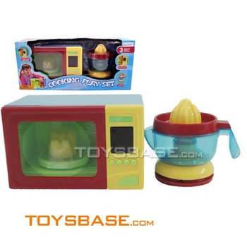 Electronic kitchen oven toy set view electronic kitchen for Electronic kitchen set