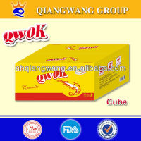 10gram*60pcs*24boxes QWOK SEA SHRIMP SEASONING SOFT CUBE