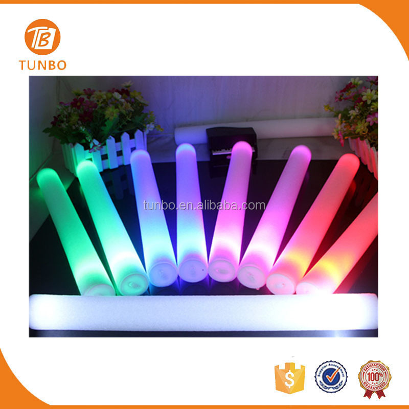 Concert Supplies Foam LED Light Stick Glow in the Dark for Event and Party Decoration