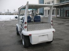 EEC approved/Street legaL CARl/on road purpose electric vehicle, L7E category,2 seats plus rear aluminium cargo box,EG6043KR-01