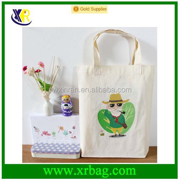 manufacturer produce cartoon pure cotton tote bag