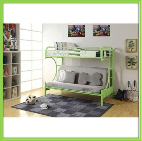 Children Metal Futon Bunk Bed Sofa Decker Bunks for Kids