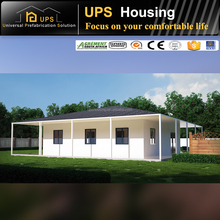 Easy Assembling Hot Sale prefab house living villa