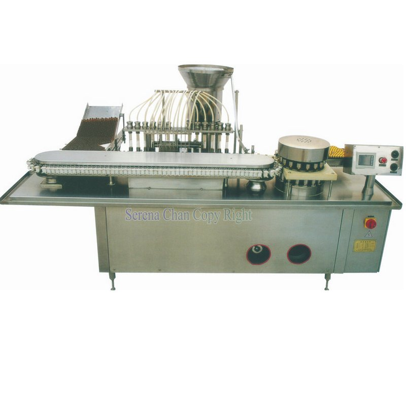 SFYG12/200 Automatic Oral Liquid Filling, Capping, Sealing Combination Machine