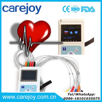 CE approved 12 channel 12 Lead Color LCD ECG Holter Monitor 24 Hours CS-12CL