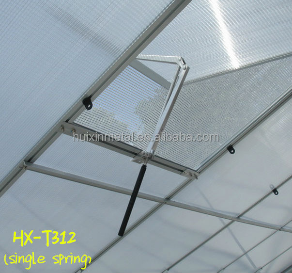 User-friendly accessory used for all kinds of aluminium frame greenhouse automatic window opener