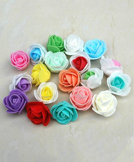 Wholesale soft cheap plastic foam artificial flowers