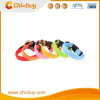 Chi-buy Wholesale LED Dog Collar Lighted Dog Collar Free Shipping on order 49usd