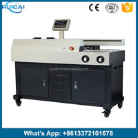 High Quality A3 A4 Automatic Perfect Binding Machine with Three Glue Rollers S60-A3