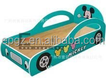 Popular Creative Kids Cartoon Beds, Wooden Single Bed Designs, Race Car Bed