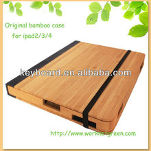 Luxury gift wooden case for ipad 2/3/4