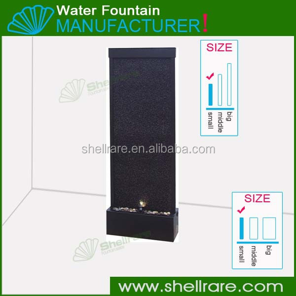 Painted Aluminium&Tempered glass waterfall for Room Divider and partitions
