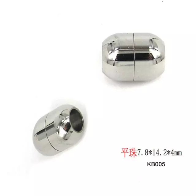 Hot sale Stainless Steel fancy Jewelry Components Magnetic Tube Clasp