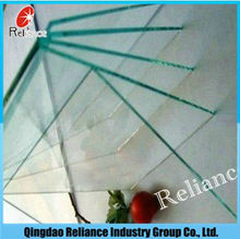 High quality 3-19mm thick clear float glass for building glass