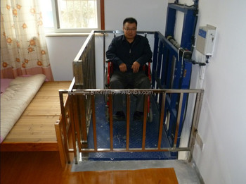Best price small home lift for wheelchair buy small home for Small elevator for home price