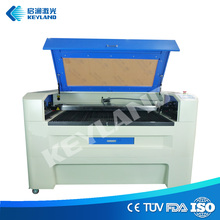 Wuhan Keyland laser engraving machine for guns with rotary device and lifting working platform