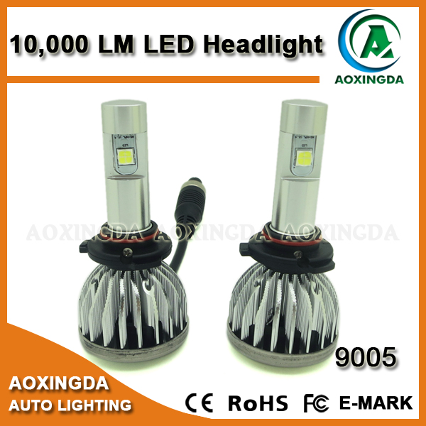 80W HB3 9005 CANBUS LED headlight 10000LM