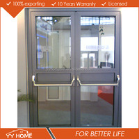 YY Home fire proof hign quality emergency escape door with high quality escape locks