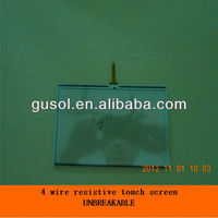 "7"" economical 4 wire resistive touch screen"