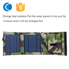 Efficiency Solar Charger Portable Folding Solar Panel Charger Bag for Mobile Phones