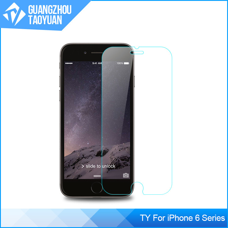 Matte Screen Protector For iPhone 6 Tempered Glass , Anti-Shock For iPhone 6 Tempered Glass Screen Protector