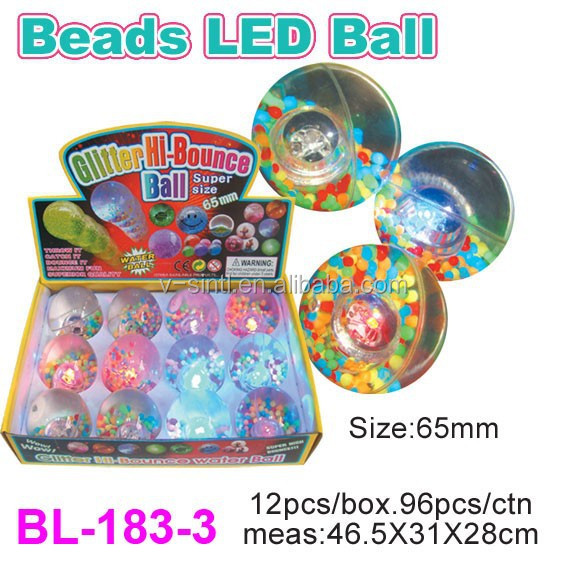 High Quality New LED Light Bouncing Water Ball